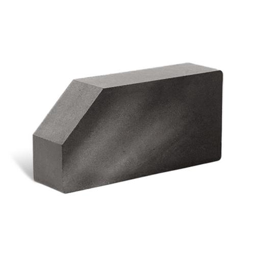 Лицьова стандартна повнотіла гладка кутова 250х120х65 (Літос)