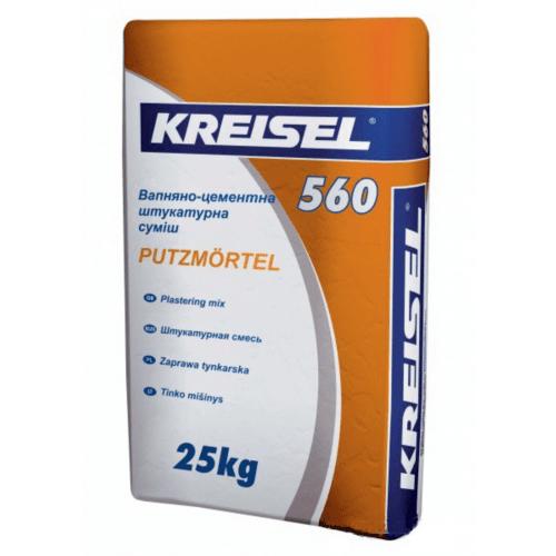 Штукатурка Kreisel 560 Putzmortel 25 кг