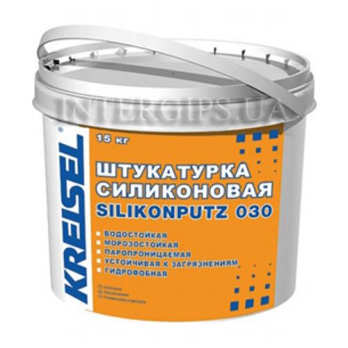 Штукатурка Kreisel Silikonharzputz барашек 25 кг