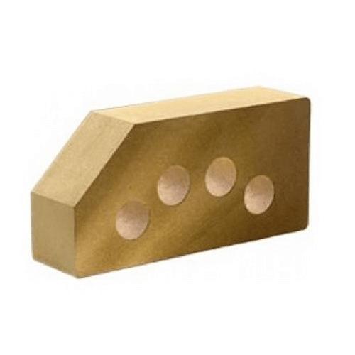 Лицевой стандартный пустотелый гладкий угловой 250х120х65 (Литос)