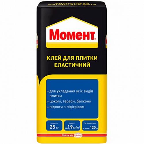 Клей для плитки Ceresit Момент Еласт 25 кг