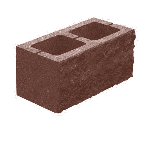 Декоративный блок 200×200×400 (Двухсторонний)