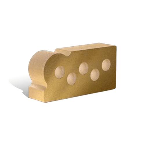 Лицьова фасонна пустотіла гладка Капля 250х120х65 (Літос)