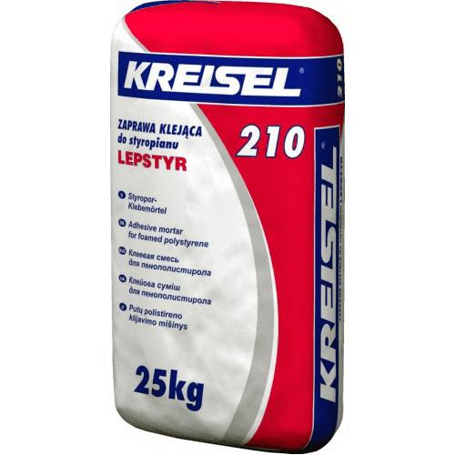 Клей для пенопласта Kreisel 210 Lepstyr 25 кг