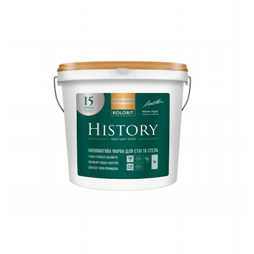 Латексная краска Колорит History (Premium 20) 9 л