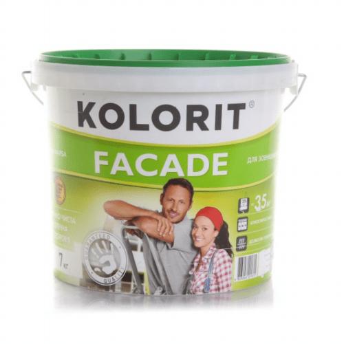Латексна фарба Колорит Фасад ЕКО 10 л