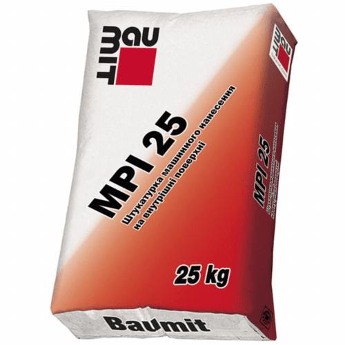 Машинная штукатурка Baumit MPI 25 25 кг