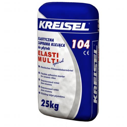 Клей для плитки Kreisel 104 Elast Multi 25кг