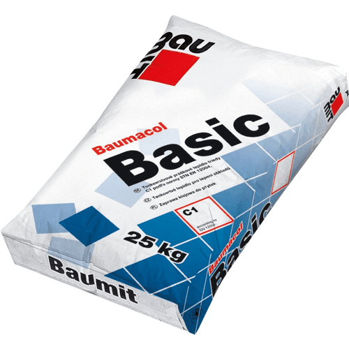 Клей для плитки Baumit Baumacol Basic 25 кг