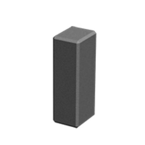 Поребрик столбик фигурный квадратный 100х80 мм