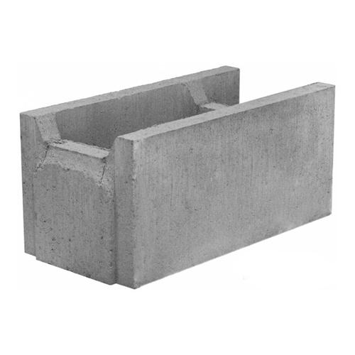 Бетонный блок 510×250×235