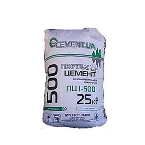 Цемент Портланд М500 (25 кілограм)