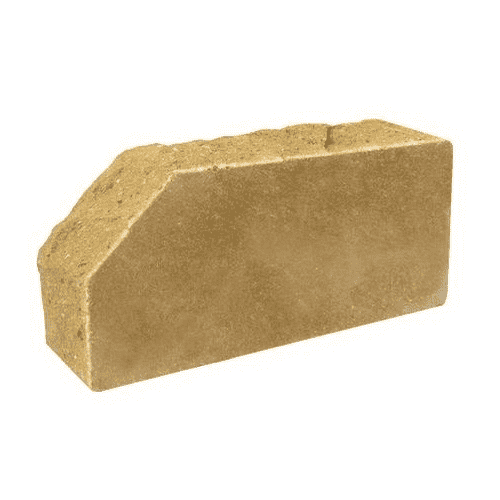 Лицевой стандартный полнотелый скала угловой тычковой 230х100х65 (Литос)