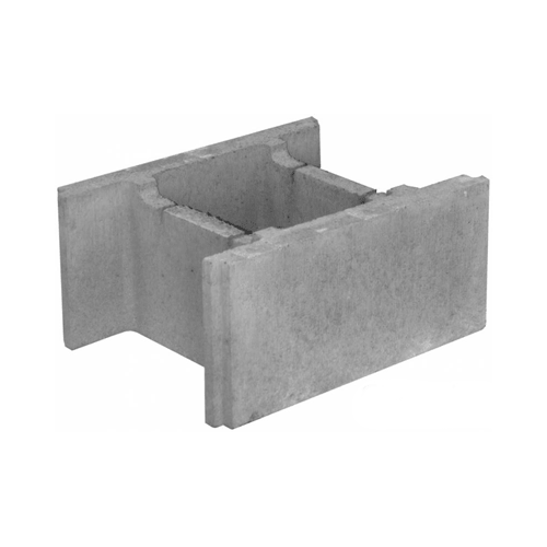 Бетонный блок 510×400×235