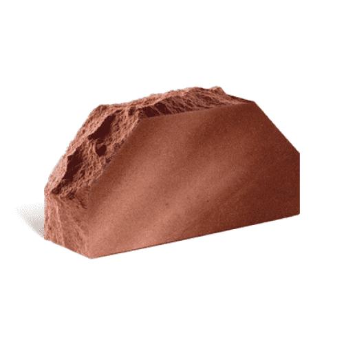Лицьова стандартна повнотіла скеля 2-х кутова 250х100х65 (Літос)