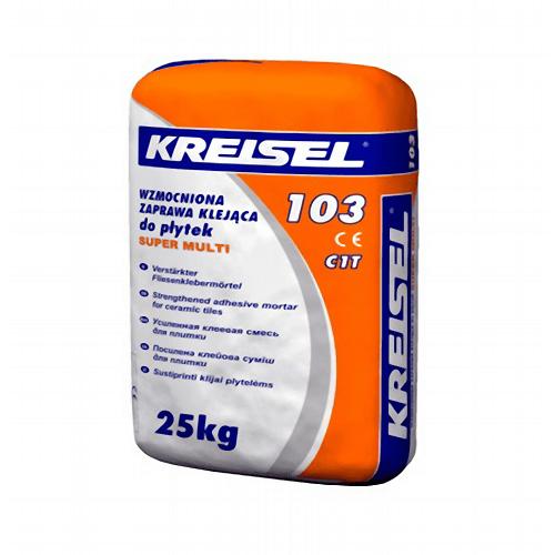Клей морозостойкий для плитки Kreisel 103 Super Multi 25кг