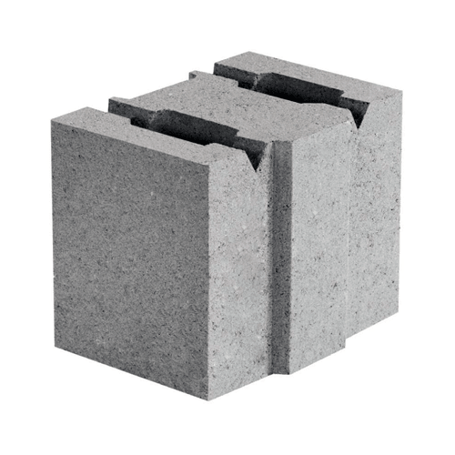 Бетонный блок 130×190×188