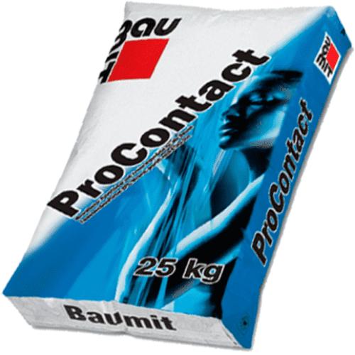 Клеевая шпаклевочная смесь Baumit ProContac 25 кг