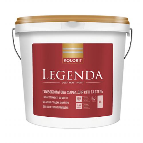 Латексная краска Kolorit Legenda база А 9 л