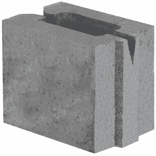 Керамзитобетон 165×115×188