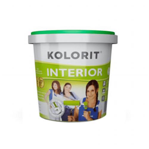 Фасадная краска Kolorit Интерьер ЭКО 5 л