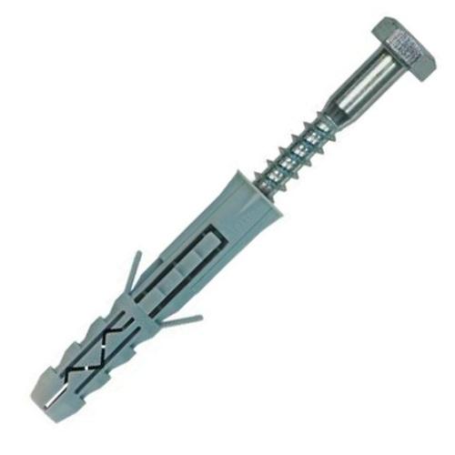 Розпірні дюбелі (шуруп 6 гран) KKX-14160, 14 х 80