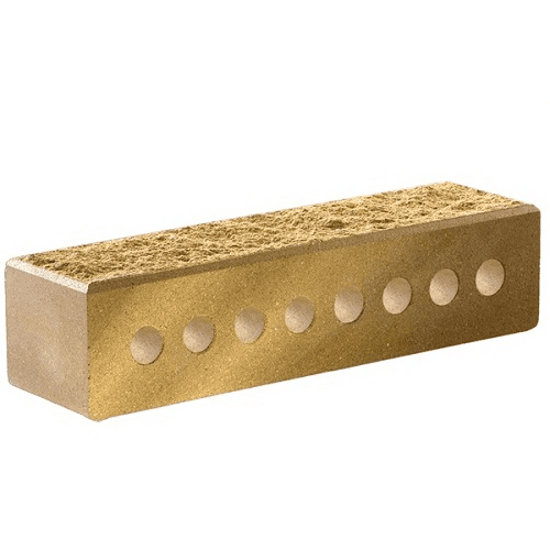 Лицевой узкий пустотелый колотый с фаской 250х60х65 (Литос)