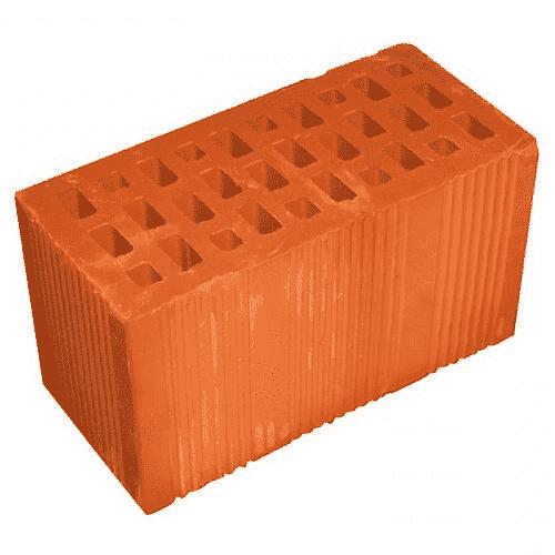 Цегла подвійна 2NF 250х120х138 см (Керамейя)