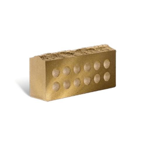 Лицевой стандартный пустотелый скала тычковой 230х100х65 (Литос)