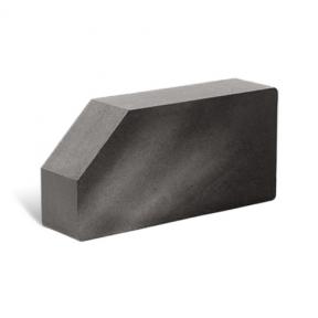 Лицевой стандартный полнотелый гладкий угловой 250х120х65 (Литос)