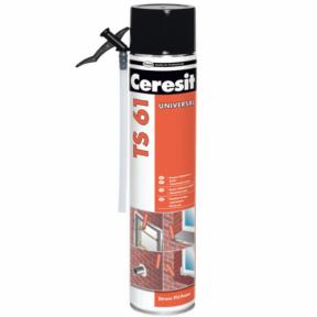 Монтажная пена Ceresit TS61 STD 750 мл