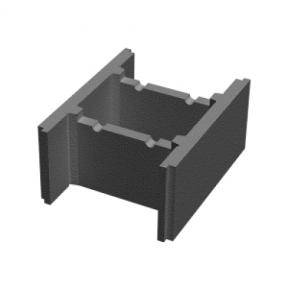 Бетонный блок 250×235×510