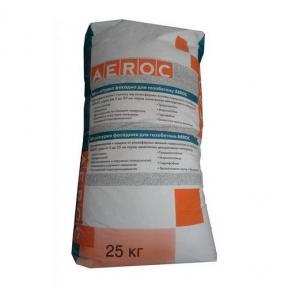 Штукатурка фасадная для газобетона Аэрок (25 кг)