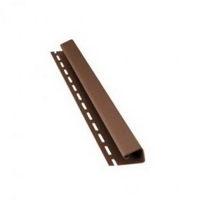 J-профиль Bryza коричневый 4м