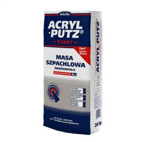 Шпаклевка гипсовая сухая Sniezka Acryl-Putz 20 кг