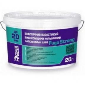 Эластичный водостойкий высокопрочный цветной шов Fuga Strong