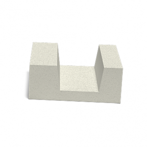 U-блок 375×250×500