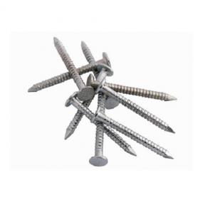 Цвяхи кільцеві для композитної черепиці 3,550RAL9005 3,5 х 50