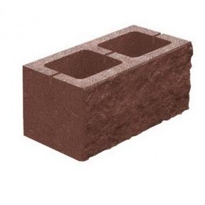 Декоративний блок 200×200×400 (Двосторонній)
