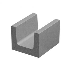 Бетонный блок 300×250×200