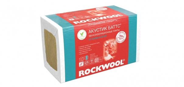 Утеплювач Rockwool Акустик Баттс 50 мм