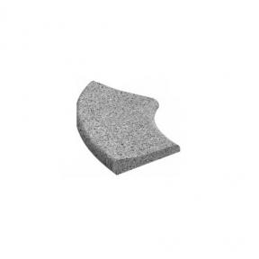 Камінь для басейну радіусний 495х315х60 мм