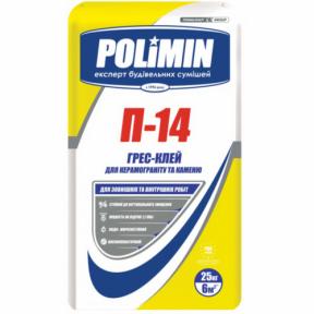 Клей для плитки Полімін П-14