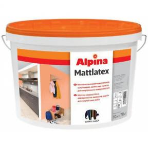 Краска Alpina Mattlatex B1 18 л