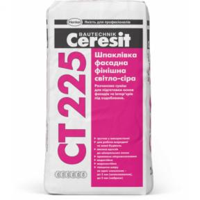 Шпаклевка фасадная белая Ceresit СТ-225 25кг