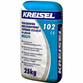 Клей морозостойкий для плитки Kreisel 102 Multi 25кг