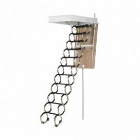 Чердачная лестница Oman раздвижная-ножничная