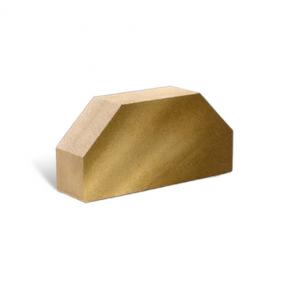 Лицевой стандартный полнотелый гладкий 2-х угловой 250х120х65 (Литос)