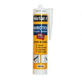Герметик акриловый Nirlat Nirotex White 310 мл