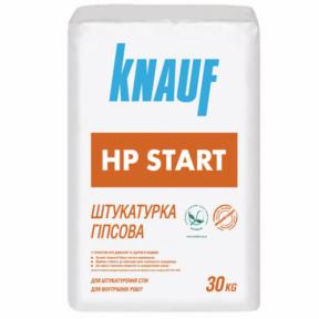 Гипсовая штукатурка Knauf HP Старт 30 кг